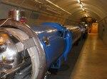 Αναπαράσταση τμήματος του τούνελ LHC.