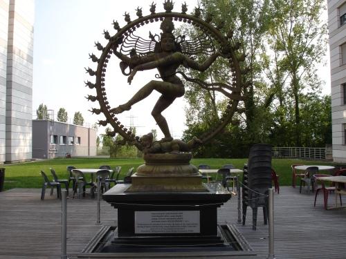 CERN. Ινδική θεότητα Shiva